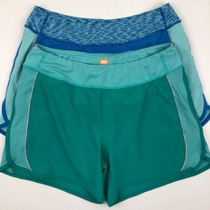 2 Pair Lucy Flex Lined Drawstring Shorts